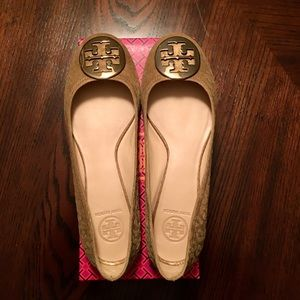 Tory Burch New Suede Ballet Flats Size 10.5